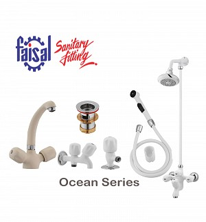 Faisal Ocean Series Bath Set (Only Color)