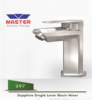 Master Gold Series Sapphire Single Lever Basin Mixer