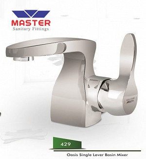 Master Gold Series Oasis Single Lever Basin Mixer