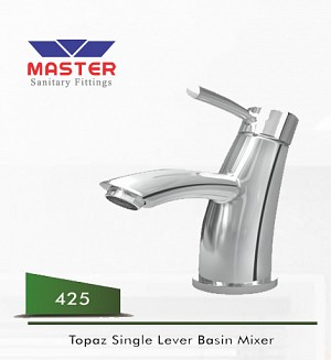 Master Gold Series Topaz Single Lever Basin Mixer
