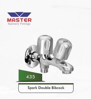 Master Spark Double Bibcock