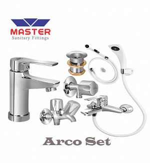 Master Arco Set With Hand Shower