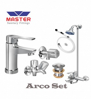 Master Arco Set With Wall Shower (Metal)