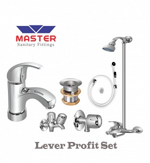 Master Lever Profit Set With Wall Shower