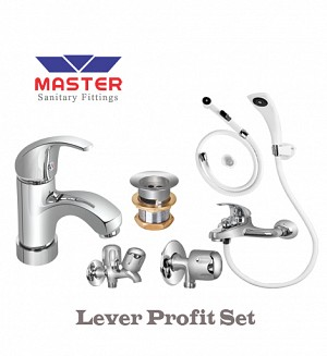 Master Lever Profit Set With Hand Shower