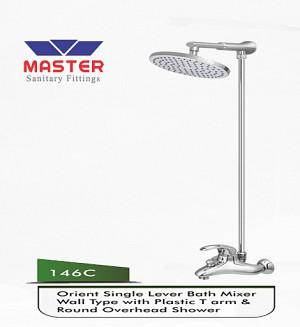Master Orient Set With Overhead Rain Shower (Plastic)