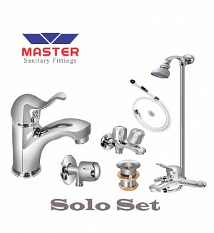 Master Solo Set With Wall Shower
