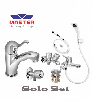 Master Solo Set With Hand Shower