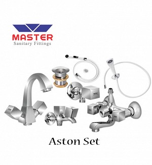 Master Aston Set With Hand Shower (Full Round)