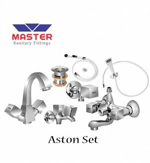 Master Aston Set With Hand Shower (Full Round) (3091)