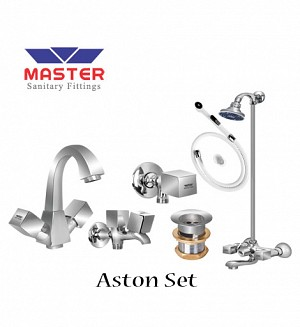 Master Aston Set With Wall Shower (Full Round)