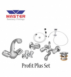 Master Profit Plus Set With Hand Shower (Full Round)