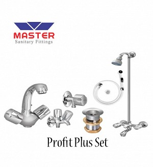 Master Profit Plus Set With Wall Shower (Full Round)