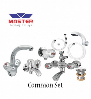 Master Common Set With Hand Shower (Full Round)