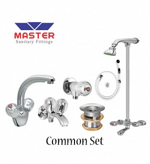 Master Common Set With Wall Shower (Full Round)