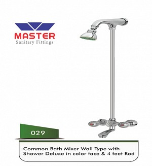 Master Common Bath Mixer & Shower (Full Round)