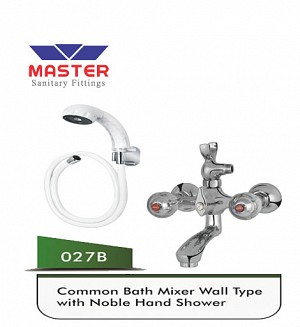 Master Common Bath Mixer & Hand Shower (Full Round)