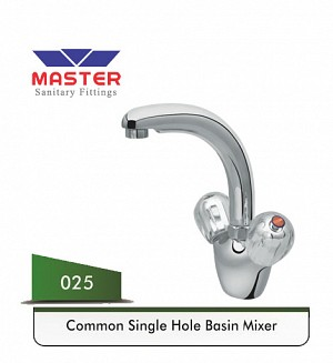 Master Common Basin Mixer (Full Round) (025)