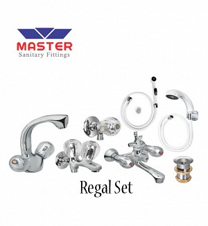 Master Regal Set With Hand Shower (Full Round)
