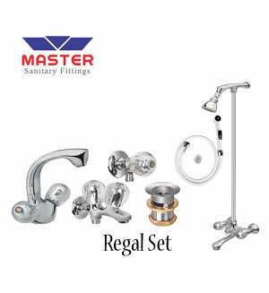 Master Regal Set With Wall Shower (Full Round) (3018A)