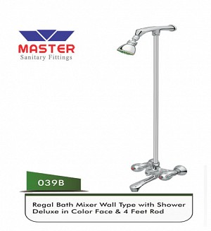 Master Regal Bath Mixer & Overhead Shower (Full Round)