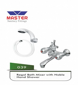 Master Regal Bath Mixer & Hand Shower (Full Round)