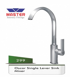 Master Oscar Single Lever Sink Mixer