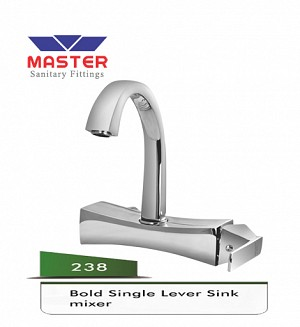 Master Bold Single Lever Sink Mixer