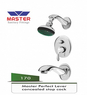 Master Perfect Lever Concealed Body Set Complete