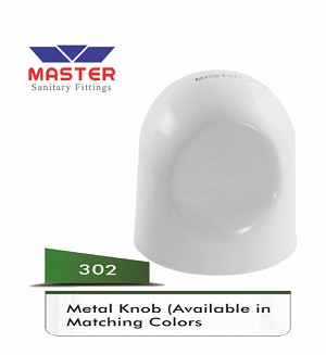 Master Metal Knob (Available In Matching Colors) (302)