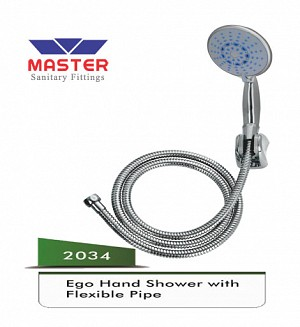 Master Ego Hand Shower With Flexible Pipe