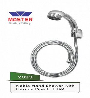 Master Noble Hand Shower With Flexible Pipe L. 1.3m (2023)