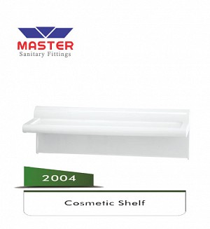 Master Plastic Cosmetic Shelf