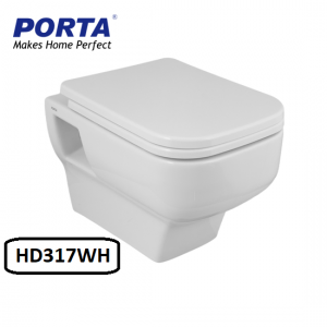 Porta Wall Hang Commode Model:(HD317WH)