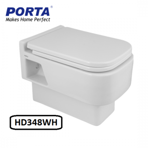 Porta Wall Hang Commode Model:(HD348WH)