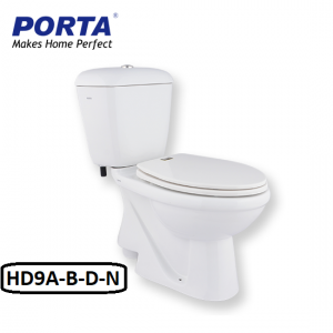 Porta Two Piece Cito Model:(HD9N/A/B/D) White / Ivory