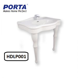 Porta Wash Basin with Full Pedestal Model:(HDLP001)