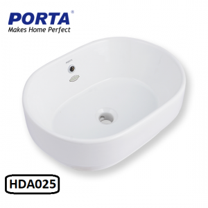 Porta Art Vanity Wash Basin (Fixing Above Counter) Model:(HDA025)