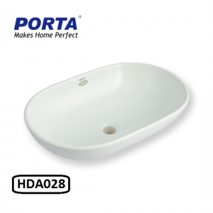 Porta Art Vanity Wash Basin (Fixing Above Counter) Model:(HDA028)