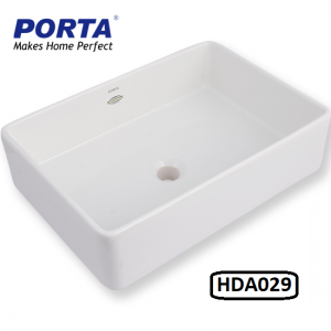 Porta Art Vanity Wash Basin (Fixing Above Counter) Model:(HDA029)