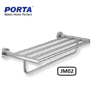 Porta Double Towel Rack 400mm Model:(JM02)