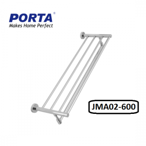 Porta Double Towel Rack 600mm Model:(JMA02)