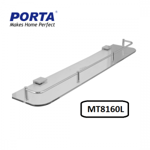 Porta Glass Shelf Transparent 600mm Model:(MT8160L)