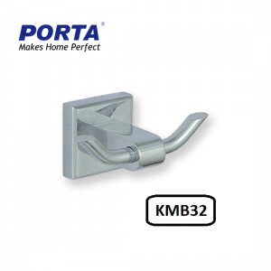 Porta Double Coat Hook Model:(KMB32)