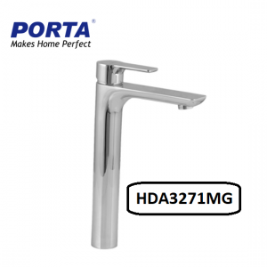 Porta Single Lever Basin Mixer (LONG NECK) Model:(HDA3271MG)