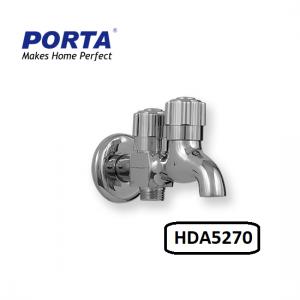 Porta Double Bib Cock (UNIVERSAL) Model:(HDA5270B)