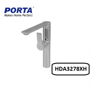 Porta Long Neck Sink Mixer (Sink Mounting) Model:(HDA3278XH)