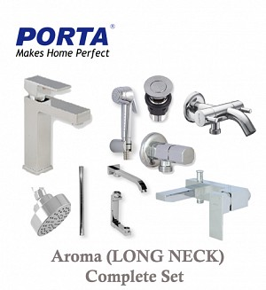 Porta Aroma (Long Neck) Complete Set (Option:1)