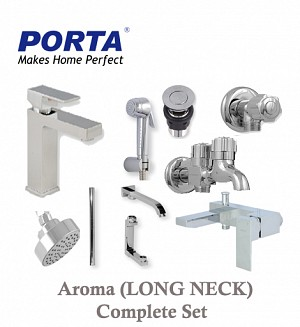 Porta Aroma (Long Neck) Complete Set (Option:2)