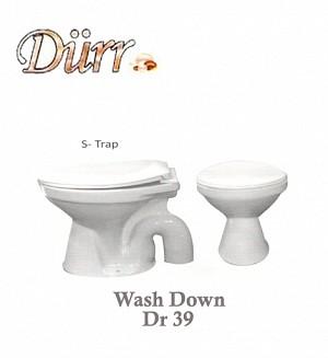 Durr Non Couple Commode Model:(Dr 39)